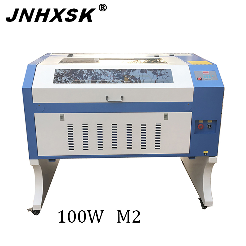 6090 100W Laser Engraving Machine Cloth Wood Wall Stickers Furniture Acrylic Leather Cup Crafts Laser Cutting Machine