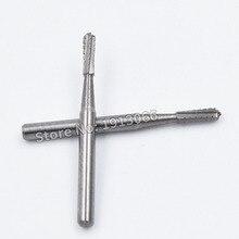10 sztuk bezpłatna przesyłka wiertła dentystyczne wysokiej prędkości produkt dentystyczny laboratorium dentystyczne wiertła z węglika FG1558