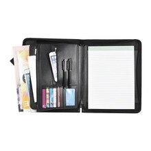 8 пакетов папка для Портфолио A4 ПУ кольцо связующего Дисплей Тетрадь папки с калькулятором документ мешок Органайзер Бизнес