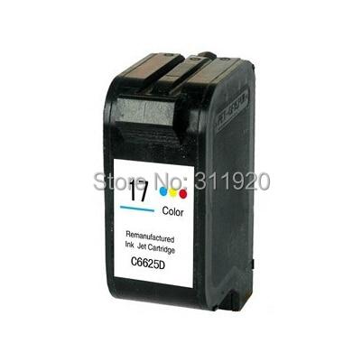 For HP 17 Tri-Color ink Cartridge For HP DeskJet 825 840 842 843 845c 840c 2110 7550 2110 3325 5550