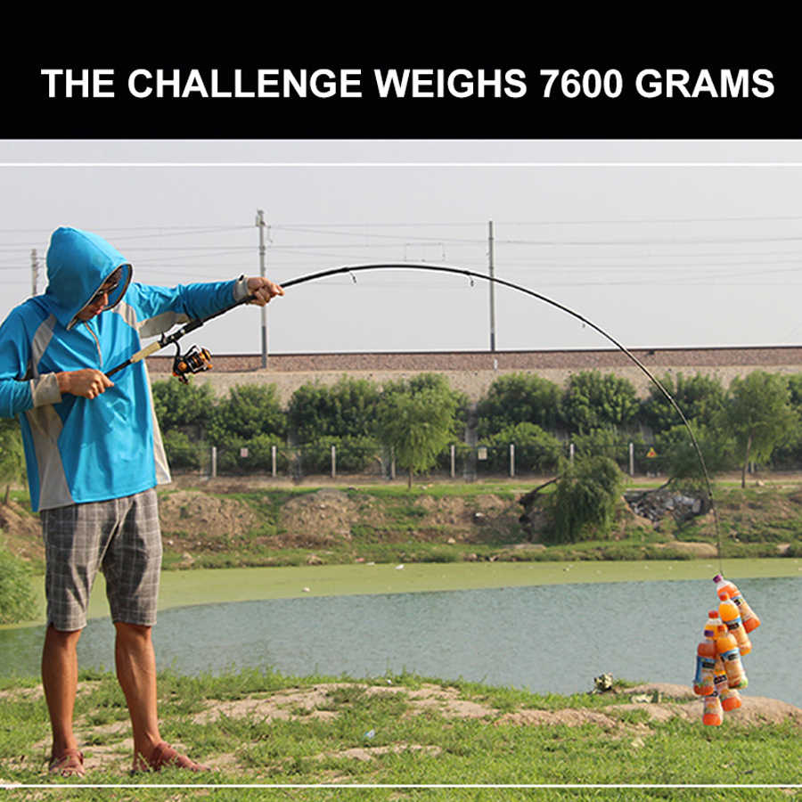 46 T высокоуглеродистая спиннинговая Удочка 1,8 m 2,1 m 2,4 m 2,7 m приманка карп оснастка для удочки для приманка для рыбы Ultra Light T4