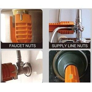 Image 5 - מטבח כיור אגן ברז ברגים כיור אמבטיה ביתית אדום להתקין ברגים ברז כלי התקנה