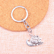 New Arrival cornucopia thanksgiving Charm Pendant Keychain Key Ring Chain Accessories Jewelry Making For Gifts(China)