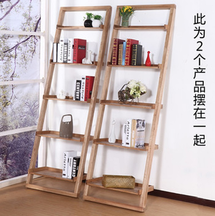 Anese Style Wood Bookcase Shelves