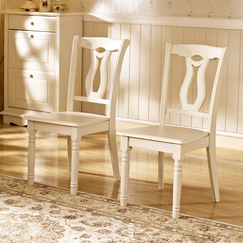 white wood dining chairs. Debon PREMIER Modern Stylish Simplicity European Ivory White Wood Dining Chairs AS (6K26 #)-in Shampoo From Furniture On Aliexpress.com | Alibaba O