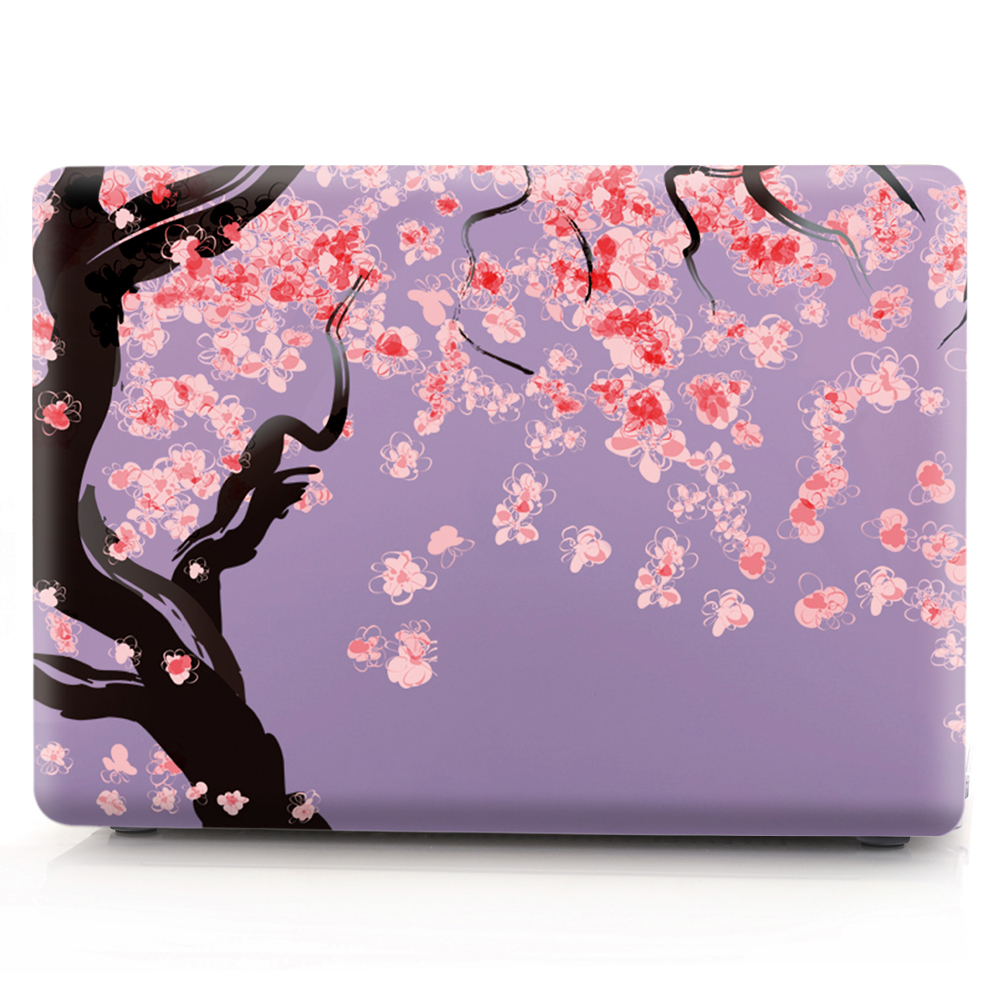 Image 2 - flower color printing notebook case for Macbook Air 11 13 Pro Retina 12 13 15 inch Colors Touch Bar New Pro 13 15  New Air 13-in Laptop Bags & Cases from Computer & Office