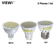 5 pcs lampada led e27 E14 GU10 MR16 super 3 วัตต์ Ac Dc 12 24 V โวลต์ spotlight Non   dimmable 12 v ลงในร่ม Home Spot หลอดไฟ