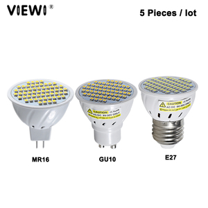 Image 1 - Lampe led 5 pièces e27 E14 GU10 MR16, super 3W, Ac Dc 12 24 V