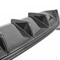 Fit for BMW 6 640i 650i F12 carbon fiber 4 tip exhaust tips