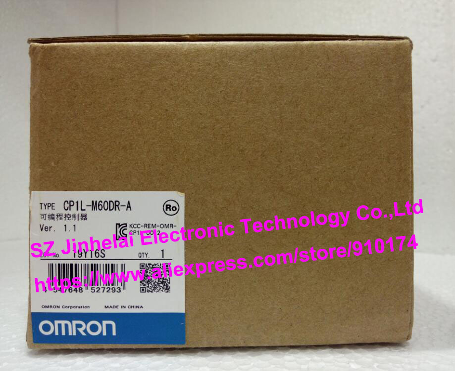 100% New and original  CP1L-M60DR-A  OMRON PLC CONTROLLER [zob] 100% new original omron omron proximity switch e2e x10d1 n 2m