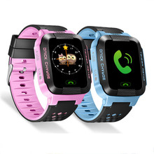 2017 New Kids Anti-lost SmartWatch 1.44″ HD Touch Screen for Android IOS System Kids Moblie Phone Watch with Flashlight & Camera