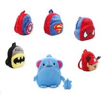 Cute Cartoon kids Plush backpack font b Toys b font Mini font b Stuffed b font