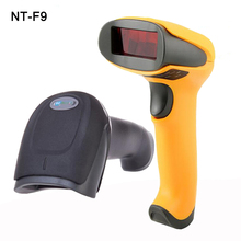 Handheld Low Price Laser Barcode Scanner Wired 1D USB Cable Bar Code Reader for POS System Supermarket NT-F9