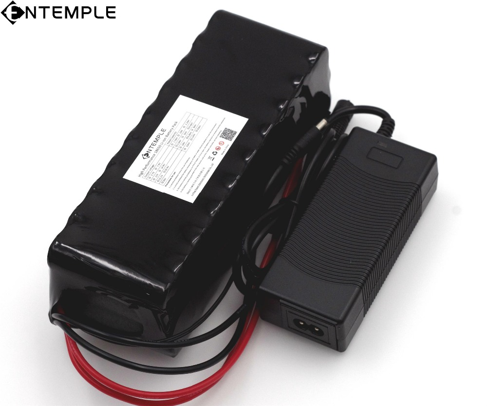 ENTEMPLE 12 V 20000mAh 18650 lithium battery miner's lamp Discharge 20A 240W xenon lamp Battery pack with PCB + 12.6V 3A Charger liitokala new original 18650 2500mah batteries inr1865025r 3 6v discharge 20a dedicated battery power diy nickel sheet