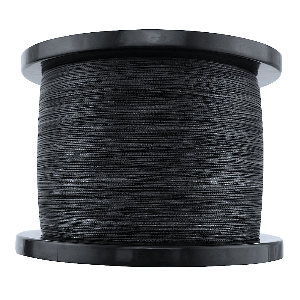 Image 5 - Braided fishing line 8 strands 8 300LBS never faded black long line 1500M 2000M pe braided wires thread fishing takle online-in Fishing Lines from Sports & Entertainment