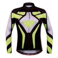 WOSAWE 2016 Outdoor Sports Cycling Jersey Spring Summer Bike Bicycle Long Sleeves MTB Clothing Shirts Wear
