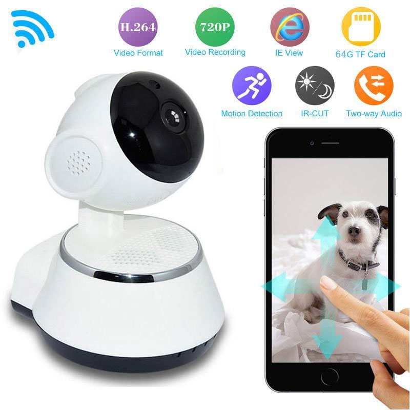 giantree 1million pixels HD WiFi camera Wireless Security camera Baby Monitor Camera Pan Tilt CCTV Home Security IR Night Vision home cctv surveillance security wireless wifi camera hd 1080p mini ip camera baby monitor pan tilt night vision motion detection