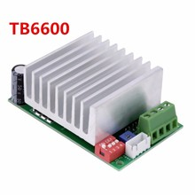1pcs NEW High Quality TB6600 cnc DC12-45V Two Phase Hybrid Stepper Motor Driver Controller Free shipping