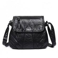 YOOFISH  New Arrive Women All-match Bag Fashion Nubuck Handbag High Quality Medium Shoulder Frosting Messenger
