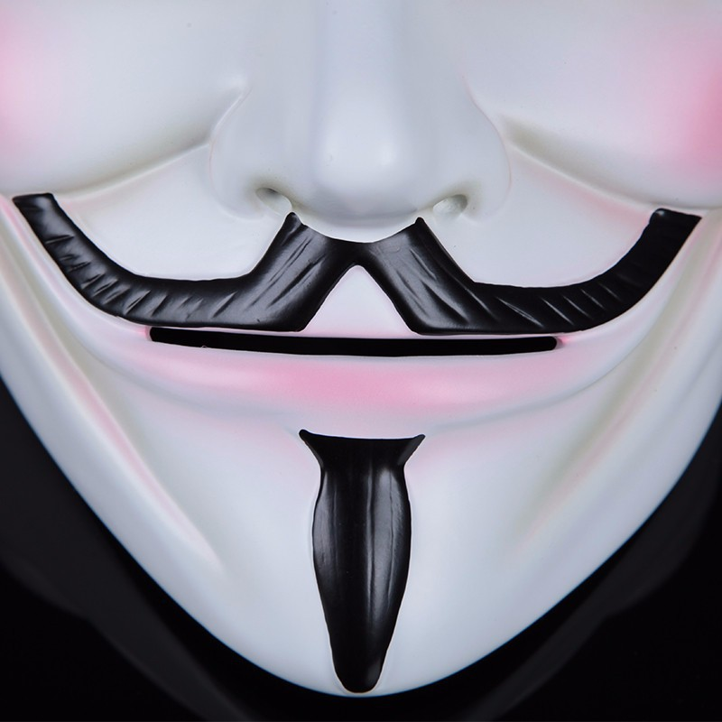 cosplay face mask v for vendetta mask anonymous mascara movie masks party masquerade fancy costume halloween