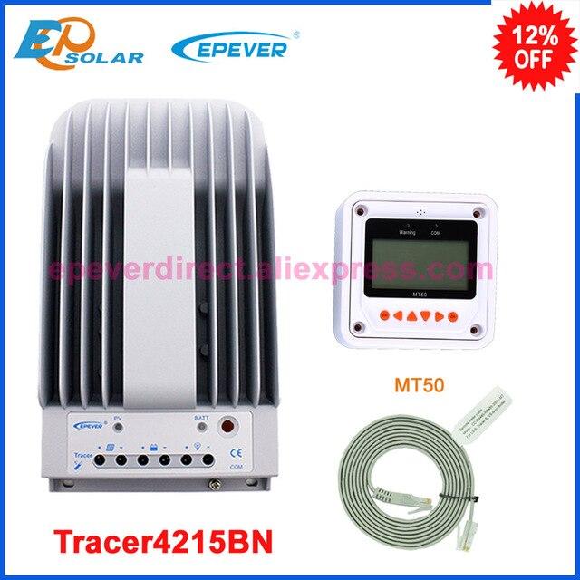 EPEVER 40A 12v 24v ソーラーパネル充電レギュレータ 24v 40A MPPT 機能トレーサー 4215BN