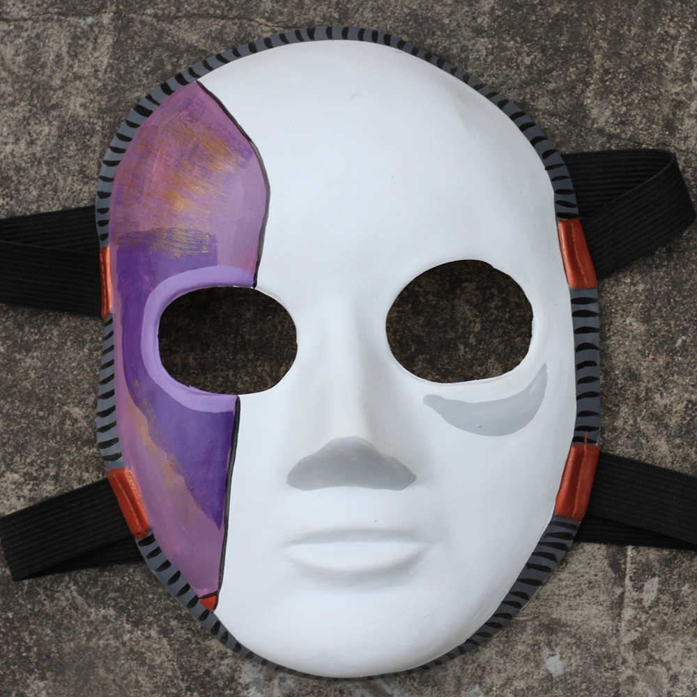 Игра Салли лицо косплей маска ужаса Хэллоуин вечерние латексные маски костюм реквизит Прямая доставка