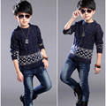 Autumn Kids Boys Sweaters Knitting Kids Sweaters And Cardigans Fashion Thick Casual Children's Clothing Boys Sweaters Coat