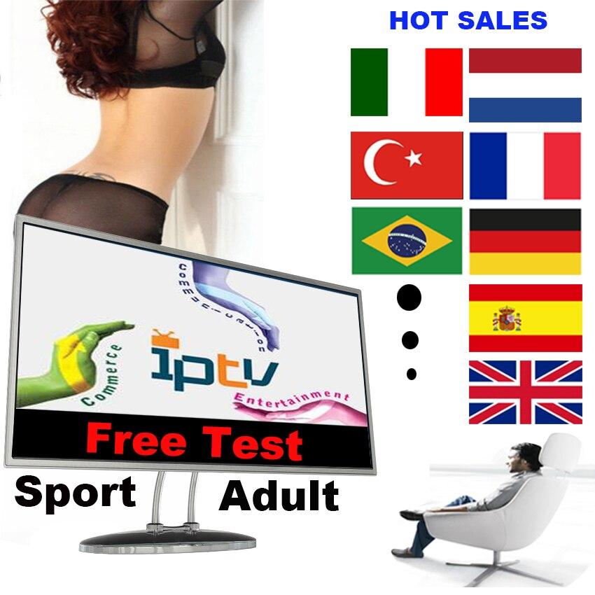 IPTV M3U suscripción Reino Unido Italia Portugal francés español turco IPTV código de cuenta M3u Enigma mundo inteligente TV para Mag Android caja