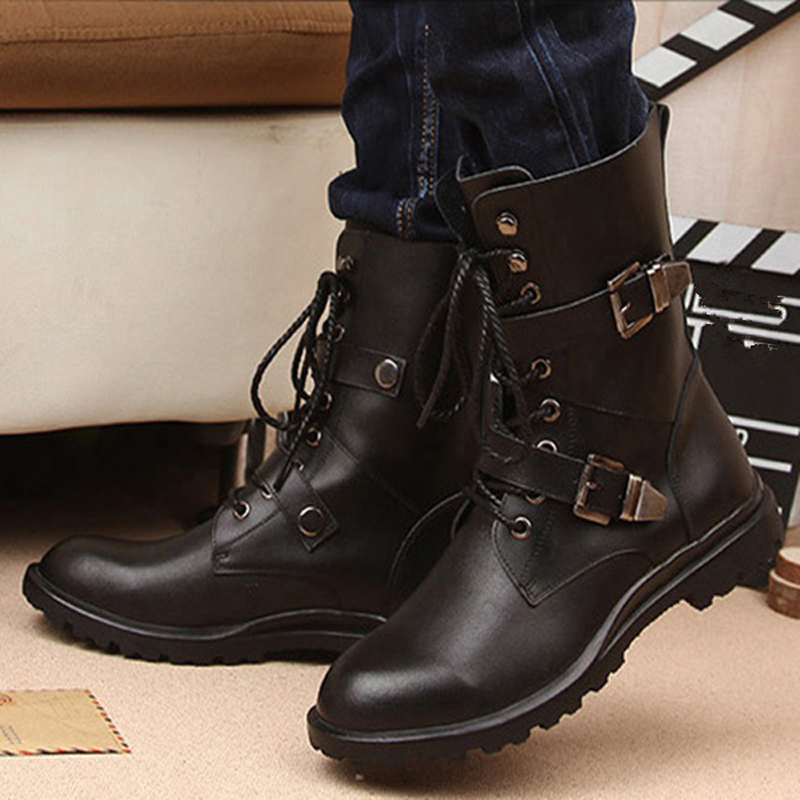 men|boots genuine leatherboots fashion
