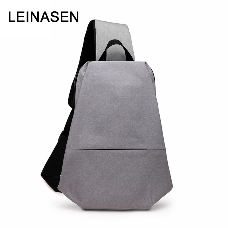Design Waterproof Travel Daily Crossbody Bag Shoulder Bag Chest Bag Large Male Sling Bag 30