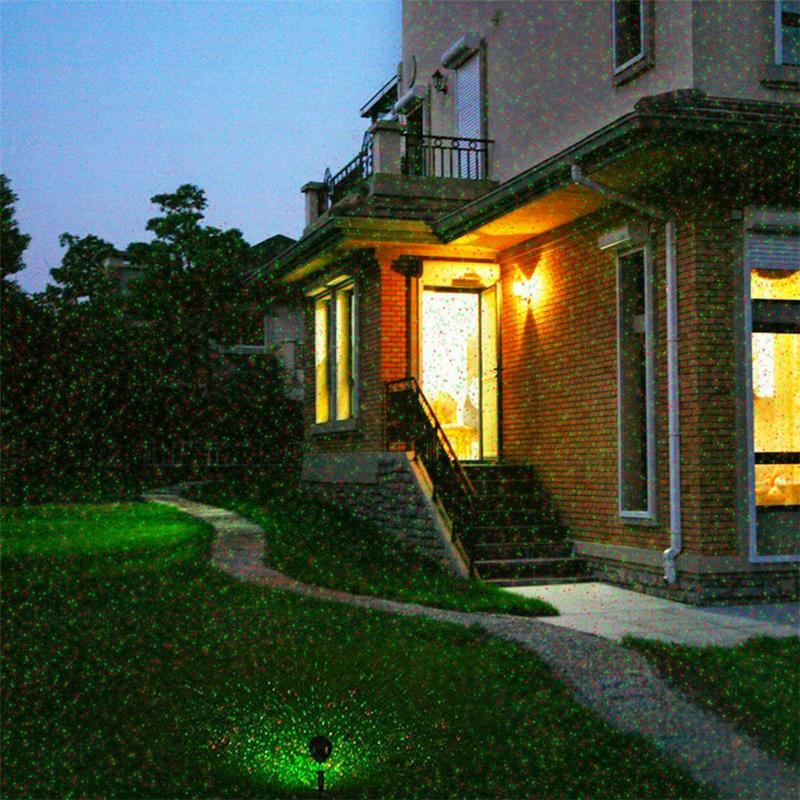 Outdoor Garden Lawn Stage Effect Light Fairy Sky Star Laser Projector Waterproof Landscape Park Garden Christmas Decorative Lamp (16)