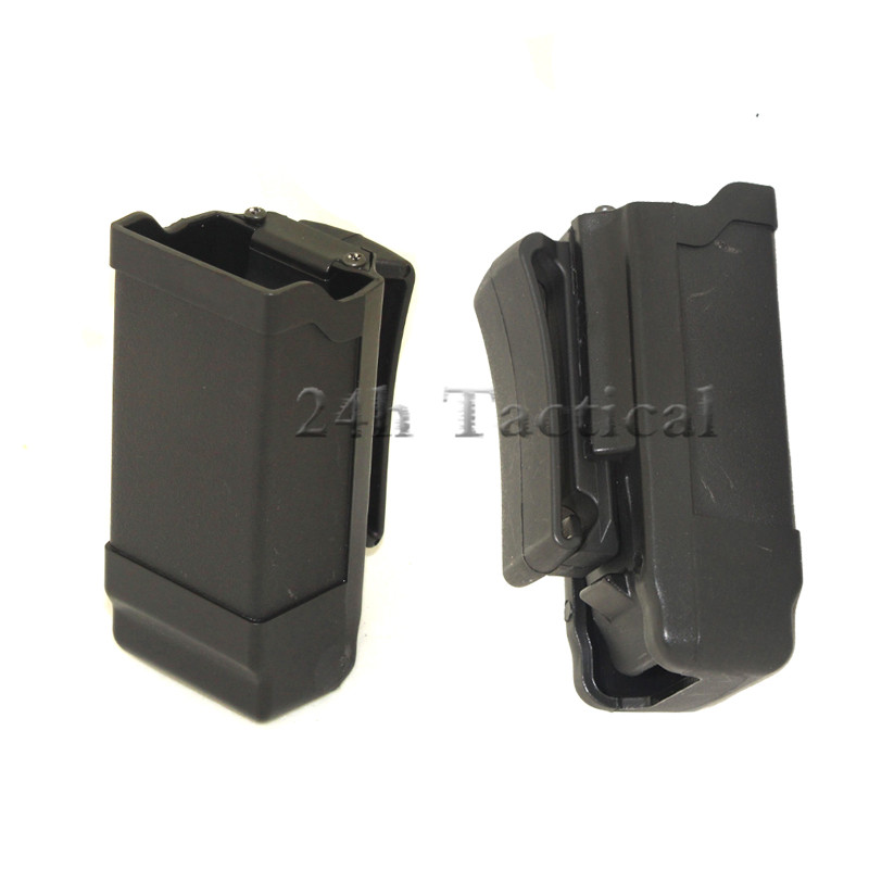 Military Tactical 9mm Mag Magazine Pouch Army Gun Holster Pouch Fit For GlOCK17 19 M9 USP SP2022 Hunting Accessories