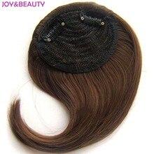 РАДОСТИ и КРАСОТЫ Волос Синтетические Волосы Высокая Температура Волокна Градиент челка 15 см Длинный Клип В Волос Взрыва