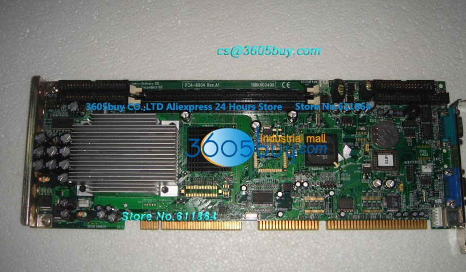 PCA-6004 PCA-6004 A1 A2 Motherboard 100% tested perfect quality