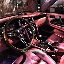 High mirrow chromed spoke 15 inch 38cm universal vintage classic wood bus racing car steering wheel