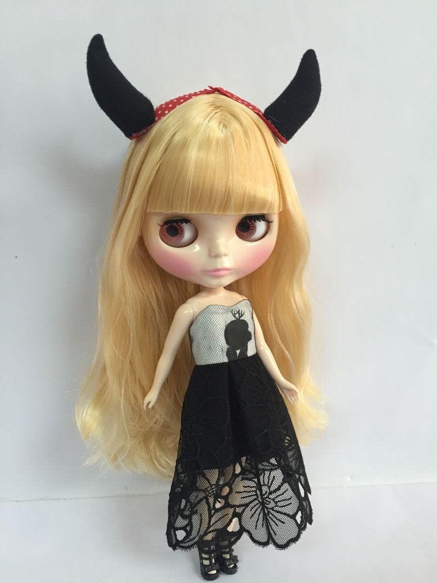 Mixed hair Nude Blyth Doll, Factory doll ,Fashion doll