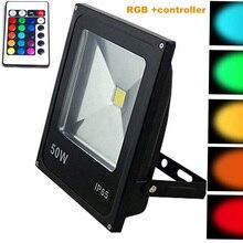 Spotlightsspot регулятором прожекторы отражатель дистанционным подсветка rgb сад led открытый вт