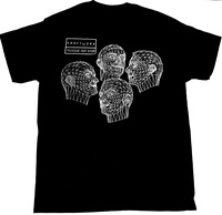 KRAFTWERK GLOW IN THE DARK MUSIQUE NON STOP ROBOTS BLACK T SHIRT SYNTH POP DEVO 100% cotton tee shirt, tops wholesale tee