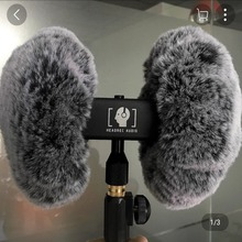 Dead Cat arificial fur windscreen shield for  3DIO ASMR heavy duty windproof cover