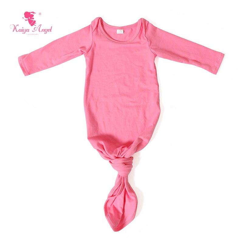 2017 Baby Kleid Dark Rosa Baumwolle Neugeborenen Schlafsack Infant Baby Kleid Heißer Verkauf Frühling Bogen Baby kleidung Kleidung-in Babyschlafsäcke aus Mutter und Kind bei AliExpress - 11.11_Doppel-11Tag der Singles 1
