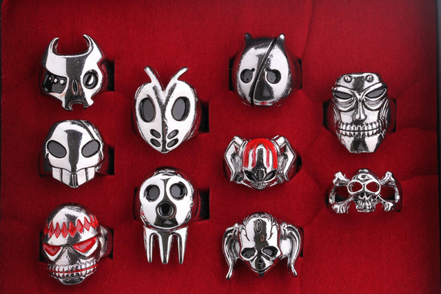 Bleach series 10 style ring sets with box