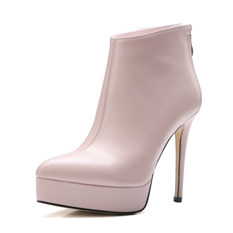 chaussure femme thin high heels boot platform boots woman party shoes Women boots ankle boots full grain leather point toe full grain genuine cow leather knee high boots shoes for woman black point toe anti slip pointed toe female women s boot pr1354
