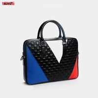 BJYL новая сумка унисекс для мужчин и женщин из натуральной кожи портфель сумка 14 ноутбук сумка на плечо портативный бизнес официальные сумк