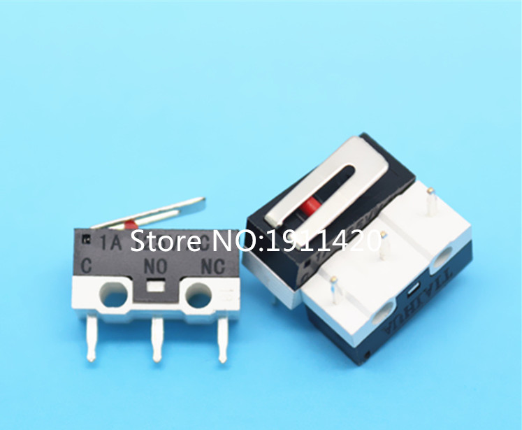 Free shipping 50pcslot JL008-10 1A 125V short handle fretting switch with pressure iron  Best quality