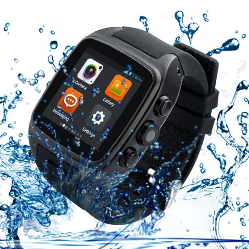 M7 Android 5.1 3G SmartWatch WristWatch IP67 watch phone Fashionable Round Screen Wear Gps Waterproof 5.0mp