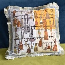 Home Decorative Velvet pillow soft cushion cover seat car home sofa bed decorative printing pillowcase Cushion Cover