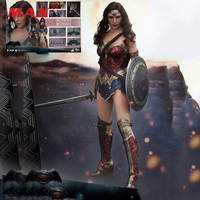 1/6 Scale Collectible Female Action Figure Accessories Justice Dawn Wonder Woman Batman VS Superman Figure Doll Model Body