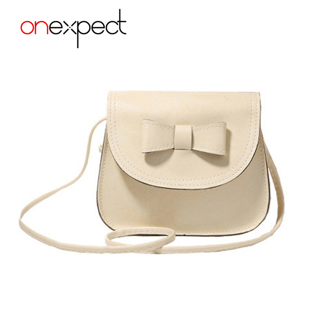 a912462e1a10 onexpect Women Bag Bow Handbag PU Leather Women's Shoulder Crossbody Bags  Ladies Small Handbags Purse Bags Bolso Pink Black