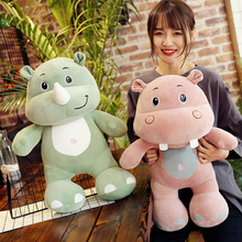hot deal buy plush toy stuffed & plush animals cute best-selling hot products forest elephant rhinoceros hippo toy doll sale