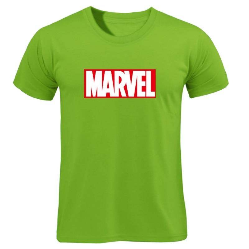MARVEL T-Shirt 2019 New Fashion Men Cotton Short Sleeves Casual Male Tshirt Marvel T Shirts Men Women Tops Tees Boyfriend Gift 35